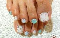 Easy Polka Dots Toe Nail Art Designs, Ideas & Trends 2014 ...