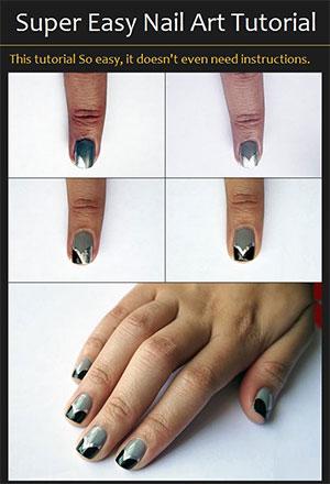 Easy Simple Step By Gel Nail Art