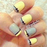 inspiring 3d wedding nail art