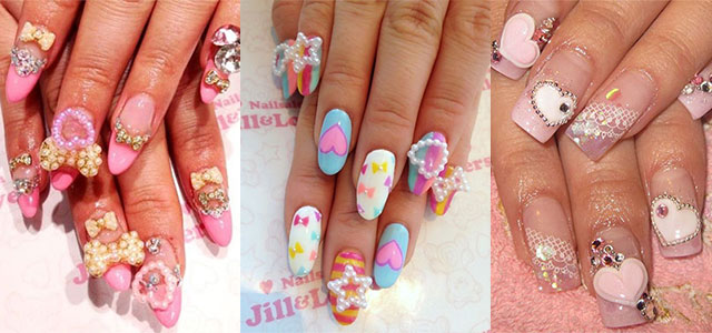 12 Amazing 3d Heart Nail Art Designs Ideas Trends Stickers Nails Fabulous