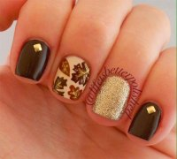 15 + Cute & Easy Fall Nail Art Designs, Ideas, Trends
