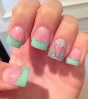easy pretty nail art design