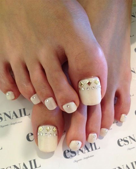 15 Pretty Toe Nail Art Designs Ideas Trends