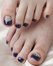 pretty toe nail art design