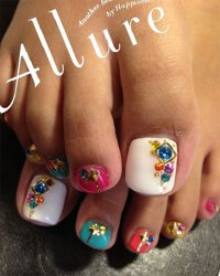 15 Pretty Toe Nail Art Designs, Ideas, Trends & Stickers ...