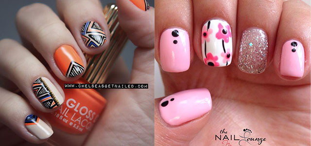 Nail Art Designs Chinese New Year