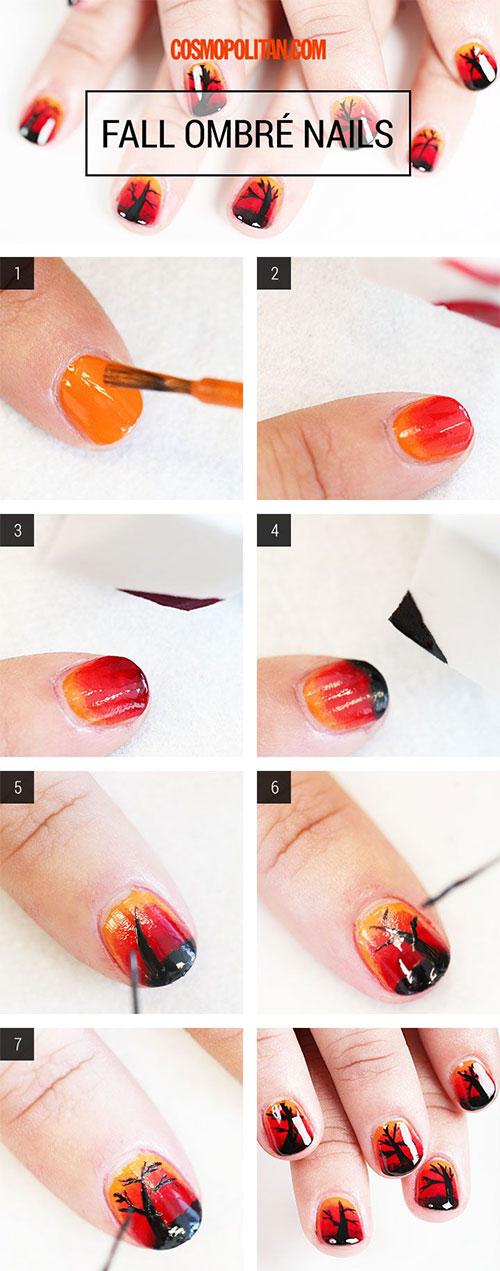 Fall Nails Tutorial