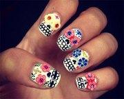halloween 3d nail art design
