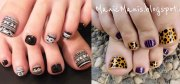 french gel nail art design