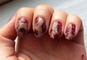 creepy halloween zombie nail