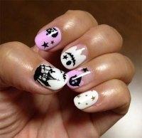 18 Halloween Ghost Nail Art Designs, Ideas, Trends ...