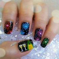 15 Happy New Year Eve Nail Art Designs, Ideas, Trends ...