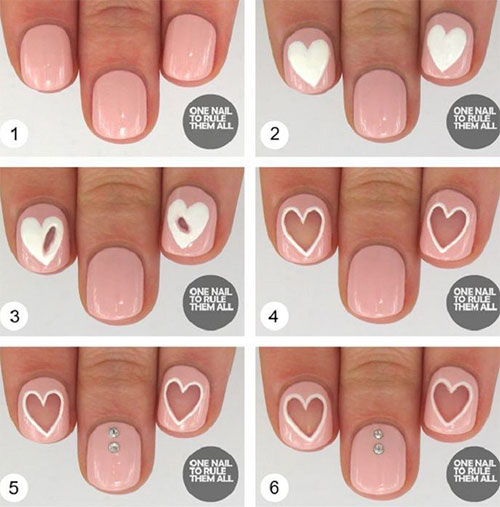 Valentine S Day Source Nail Art Diy Ideas That You Ll Love32
