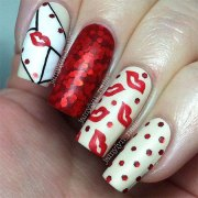 valentine's day acrylic