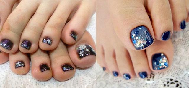 Inspiring Winter Toe Nail Art Designs Ideas Trends