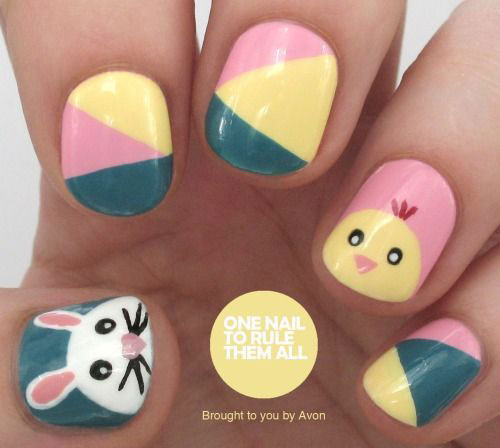 12 Easter Nail Art Designs Ideas Trends
