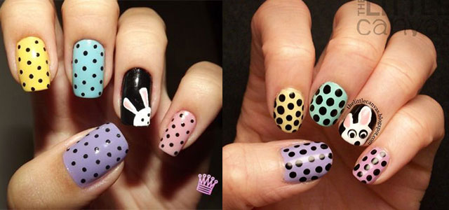 20 Simple Easy Cool Easter Nail Art Designs