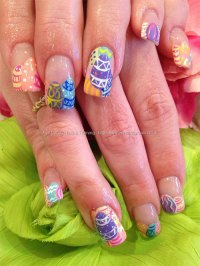 Inspiring Easter Acrylic Nail Art Designs, Ideas, Trends