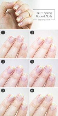 Easy Spring Nail Designs Step By Step | www.pixshark.com ...