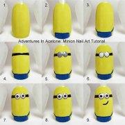 easy step minion nail