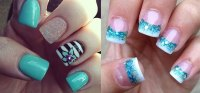 15+ Cool & Pretty Summer Acrylic Nail Art Designs, Ideas ...