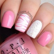 fun & bright summer gel nail