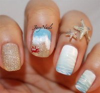 18 Beach Nail Art Designs, Ideas, Trends & Stickers 2015 ...