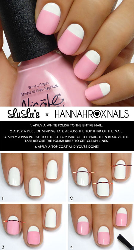 18 Easy Step By Summer Nail Art
