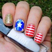12+ American Flag Nail Art Designs, Ideas, Trends ...