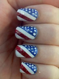 15 Fourth Of July Acrylic Nail Art Designs, Ideas, Trends