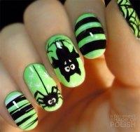 12+ Halloween Bat Nail Art Designs, Ideas & Stickers 2015 ...