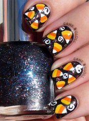 halloween inspired candy corn