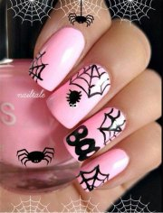 halloween themed spider web