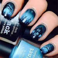 25 Scary Halloween Nail Art Designs, Ideas, Trends ...
