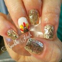 15 Best Turkey Nail Art Designs, Ideas & Trends 2015 ...