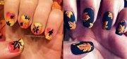 cute & easy fall autumn nail