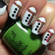 christmas nail guide #2 - 10 nageldesign