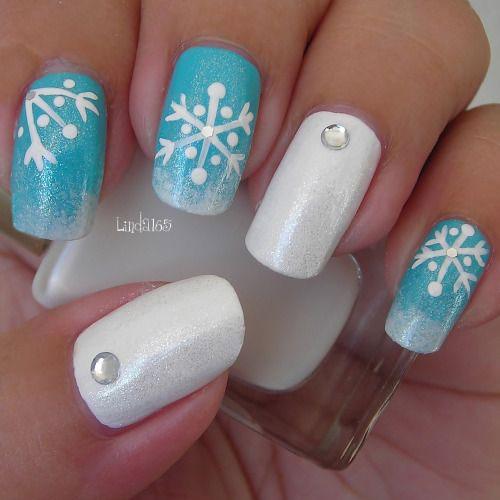 18 Easy & Cute Christmas Nail Art Designs, Ideas & Trends
