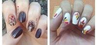 18 Easy & Cute Thanksgiving Nail Art Designs, Ideas ...