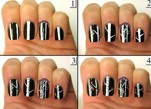 Autumn Nail Art 30