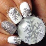 christmas snowflake acrylic