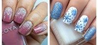 15+ Winter Gel Nail Art Designs, Ideas & Stickers 2016
