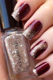 happy year nail art