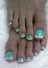 10+ Winter Toe Nail Art Designs, Ideas, Trends & Stickers ...