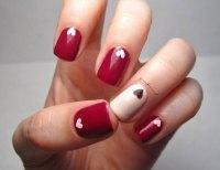 12 Valentine's Day Little Heart Nail Art Designs & Ideas ...