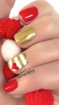 15 Easy & Cute Valentine's Day Nail Art Designs & Ideas ...