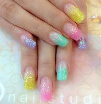 15 Easter Acrylic Nail Art Designs, Ideas & Stickers 2016