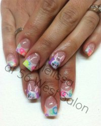 15 Easter Acrylic Nail Art Designs, Ideas & Stickers 2016 ...