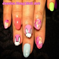 15+ Easter Bunny Nail Art Designs, Ideas & Stickers 2016 ...