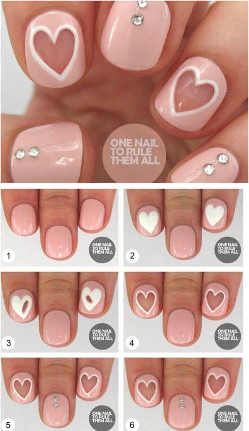 30 Valentine 39 S Day Nail Art Diy Ideas That You Ll Love